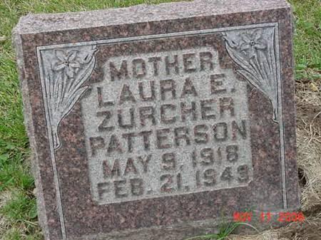 ZURCHER PATTERSON, LAURA E - Scott County, Iowa | LAURA E ZURCHER PATTERSON