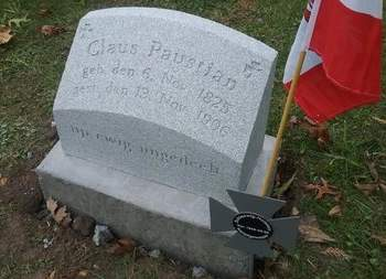 PAUSTIAN, CLAUS - Scott County, Iowa | CLAUS PAUSTIAN