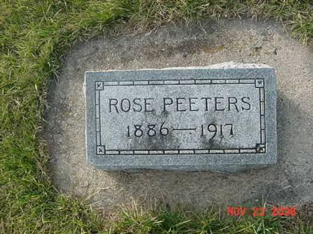PEETERS, ROSE - Scott County, Iowa | ROSE PEETERS