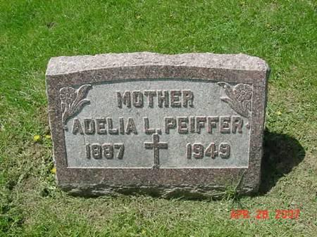 PEIFFER, ADELIA L - Scott County, Iowa | ADELIA L PEIFFER