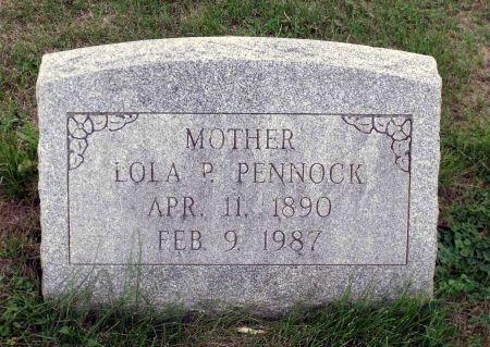 PENNOCK, LOLA PEARL - Scott County, Iowa | LOLA PEARL PENNOCK