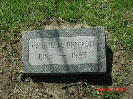PENROD, CARRIE M - Scott County, Iowa | CARRIE M PENROD