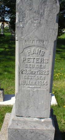 PETERS, HANS - Scott County, Iowa | HANS PETERS