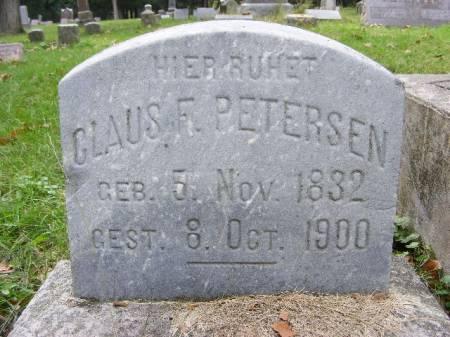 PETERSEN, CLAUS F. - Scott County, Iowa | CLAUS F. PETERSEN