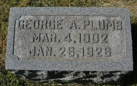 PLUMB, GEORGE A. - Scott County, Iowa | GEORGE A. PLUMB