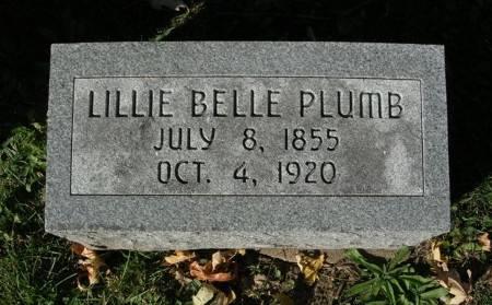 PLUMB, LILLIE BELLE - Scott County, Iowa | LILLIE BELLE PLUMB