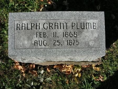 PLUMB, RALPH GRANT - Scott County, Iowa   RALPH GRANT PLUMB