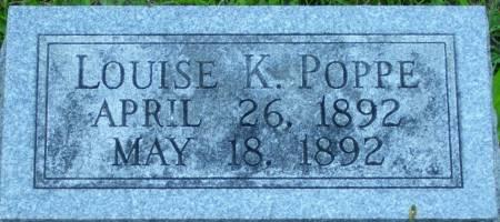 POPPE, LOUISE K. - Scott County, Iowa | LOUISE K. POPPE