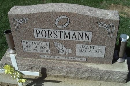 PORSTMANN, RICHARD J. - Scott County, Iowa | RICHARD J. PORSTMANN