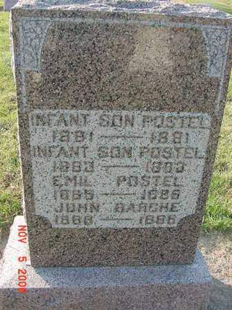 POSTEL, INFANT SON - Scott County, Iowa | INFANT SON POSTEL