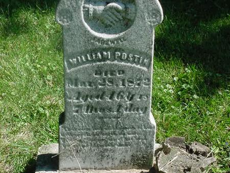 POSTIN, WILLIAM - Scott County, Iowa | WILLIAM POSTIN