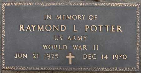 POTTER, RAYMOND L. - Scott County, Iowa | RAYMOND L. POTTER