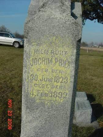 PRIES, JOCHIM - Scott County, Iowa | JOCHIM PRIES