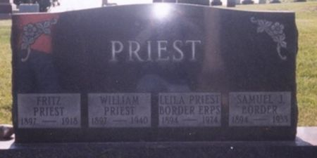 PRIEST, WILLIAM - Scott County, Iowa | WILLIAM PRIEST
