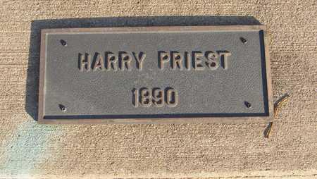 PRIEST, HARRY - Scott County, Iowa | HARRY PRIEST