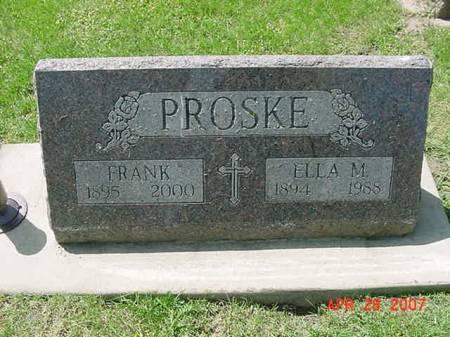 PROSKE, ELLA M - Scott County, Iowa | ELLA M PROSKE