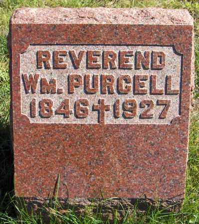 PURCELL, REV. WM. - Scott County, Iowa | REV. WM. PURCELL
