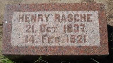 RASCHE, HENRY - Scott County, Iowa | HENRY RASCHE