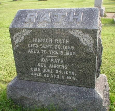 AHRENS RATH, IDA - Scott County, Iowa | IDA AHRENS RATH