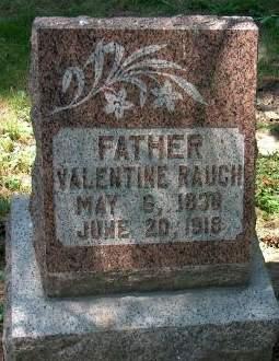 RAUCH, VALENTINE - Scott County, Iowa | VALENTINE RAUCH