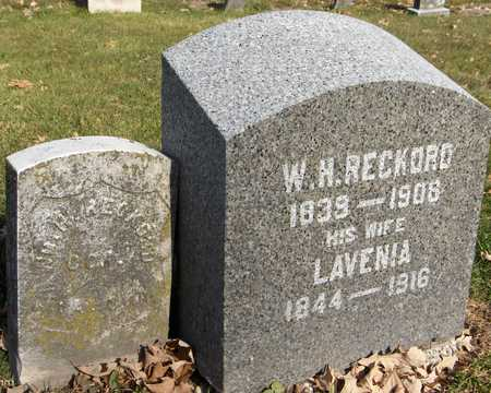 RECKORD, LAVENIA - Scott County, Iowa | LAVENIA RECKORD
