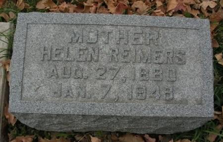 REIMERS, HELEN - Scott County, Iowa | HELEN REIMERS