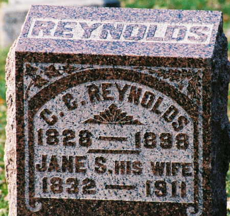 REYNOLDS, C G - Scott County, Iowa | C G REYNOLDS