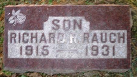 RAUCH, RICHARD R. - Scott County, Iowa   RICHARD R. RAUCH