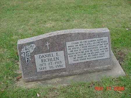 RICHLEN, DANIEL E - Scott County, Iowa | DANIEL E RICHLEN