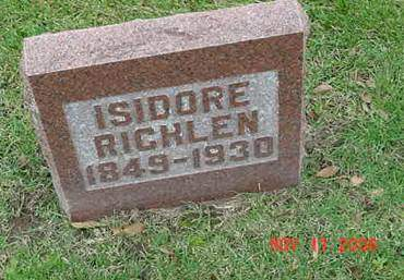 RICHLEN, ISIDORE - Scott County, Iowa | ISIDORE RICHLEN
