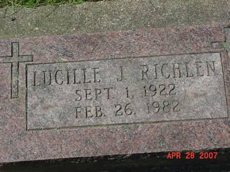 RICHLEN, LUCILLE J - Scott County, Iowa   LUCILLE J RICHLEN