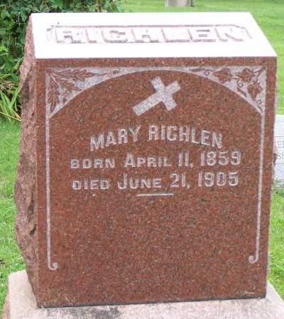 RICHLEN, MARY - Scott County, Iowa | MARY RICHLEN