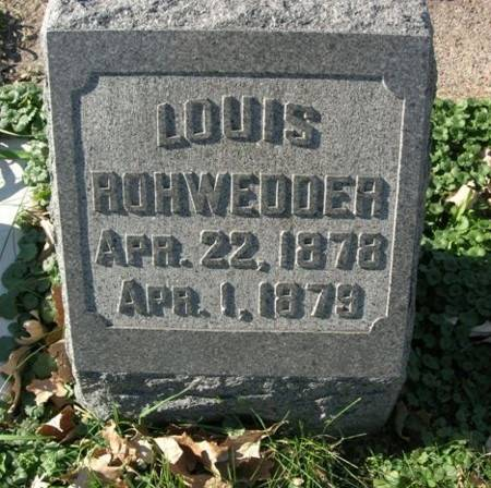 ROHWEDDER, LOUIS - Scott County, Iowa | LOUIS ROHWEDDER