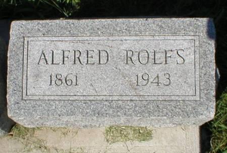 ROLFS, ALFRED - Scott County, Iowa | ALFRED ROLFS