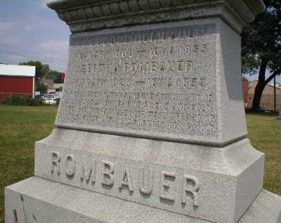 ROMBAUER, THEODORE - Scott County, Iowa | THEODORE ROMBAUER
