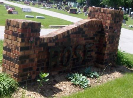 ROSE, HILL - Scott County, Iowa   HILL ROSE