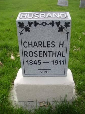 ROSENTHAL, CHARLES H - Scott County, Iowa | CHARLES H ROSENTHAL