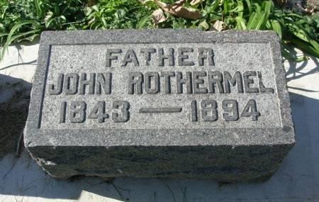 ROTHERMEL, JOHN - Scott County, Iowa | JOHN ROTHERMEL
