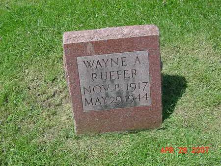 RUEFER, WAYNE A - Scott County, Iowa | WAYNE A RUEFER