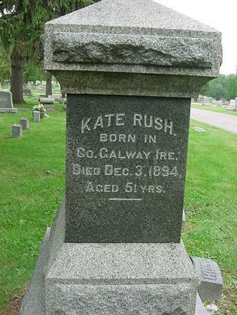 RUSH, KATE - Scott County, Iowa | KATE RUSH