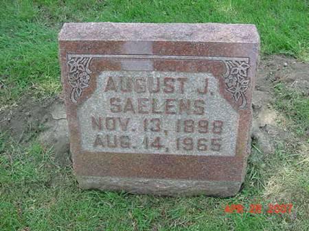 SAELENS, AUGUST J - Scott County, Iowa | AUGUST J SAELENS