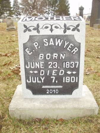 SAWYER, E.P. - Scott County, Iowa   E.P. SAWYER