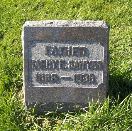 SAWYER, HARRY E. - Scott County, Iowa | HARRY E. SAWYER
