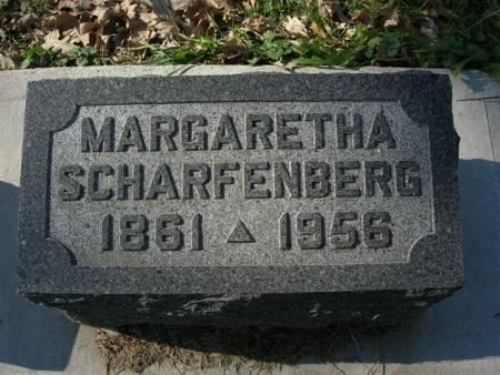 SCHARFENBERG, MARGARETHA - Scott County, Iowa | MARGARETHA SCHARFENBERG