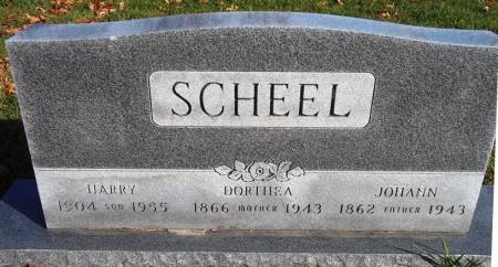 SCHEEL, HARRY - Scott County, Iowa | HARRY SCHEEL
