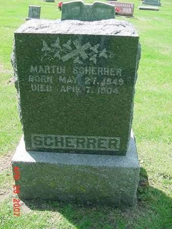 SCHERRER, MARTIN - Scott County, Iowa | MARTIN SCHERRER