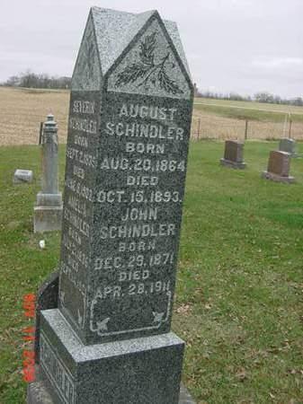 SCHINDLER, AUGUST - Scott County, Iowa | AUGUST SCHINDLER