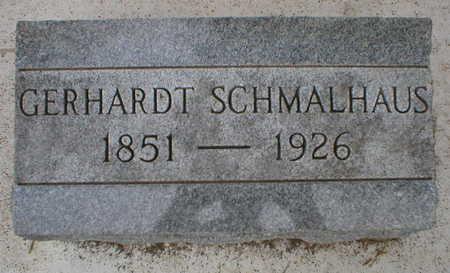 SCHMALHAUS, GERHARDT - Scott County, Iowa | GERHARDT SCHMALHAUS