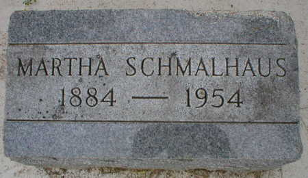 SCHMALHAUS, MARTHA - Scott County, Iowa | MARTHA SCHMALHAUS