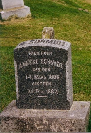 HOFBECK SCHMIDT, ANECKE - Scott County, Iowa | ANECKE HOFBECK SCHMIDT